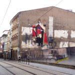 Altstadt Olomouc mit Festvalwerbung